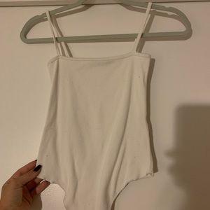 brandy melville white bodysuit